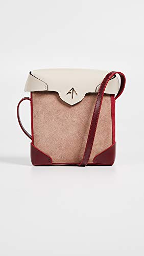 Pristine Women's Box Atelier Poudre Mini Beige Red Light Bag MANU qpUSMtH4t