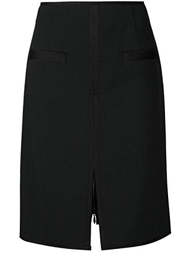 Proenza Schouler Femme R153502AYB21200 Noir Viscose Jupe