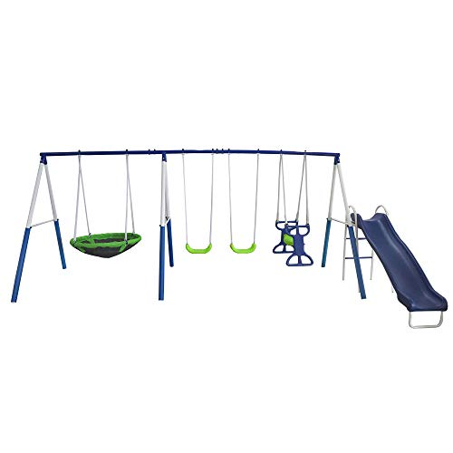 - XDP Recreation All Star Outdoor Playground Backyard Kids Toddler Play/Swing Set