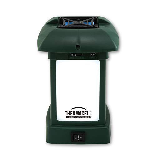 Thermacell Outdoor Mosquito Repellent Lantern; 15-Foot Zone of Protection Repels Mosquitoes;...