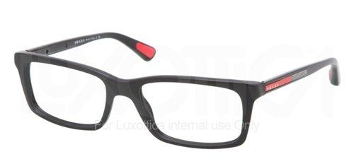 1ab1o1 Glasses - Prada Sport PS 02CV Eyeglasses 1AB1O1 Black