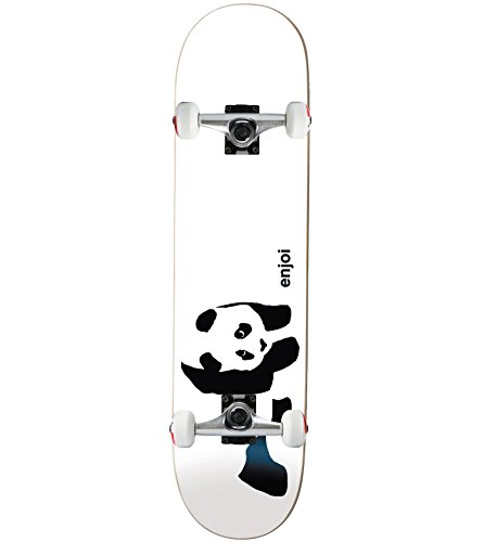 Enjoi Whitey Panda Complete Skateboard - 7.75 w/Raw Trucks & Wheels from Enjoi