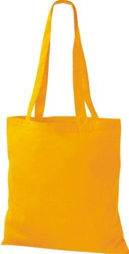 ShirtInStyle Premium Bolsa de tela Bolsa de algodón Bolsa Comprador Bolso de bandolera de muchos colores Girasol