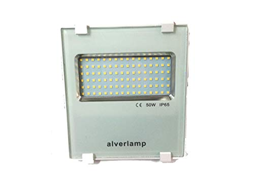 Alverlamp LSPRO5041W - Foco proyector LED, 50W, 4000K, compacto ...