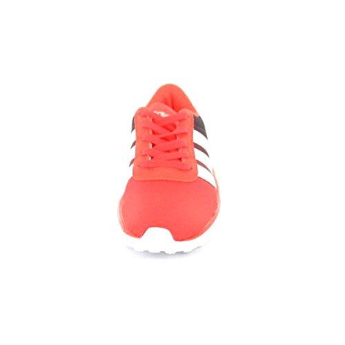 adidas Unisex-Kinder Lite Racer K Turnschuhe Rot (Rojsol/ftwbla/negbas)