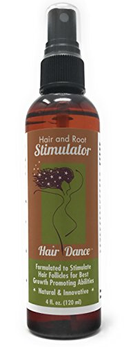 Hair Loss Treatment - Hair Growth Stimulator for Thicker, Faster Hair Growth, Healthy Scalp. Research-Based Caffeine, L-arginine Potent DHT Blocker. 4 oz. by Hair Dance by Hair Dance