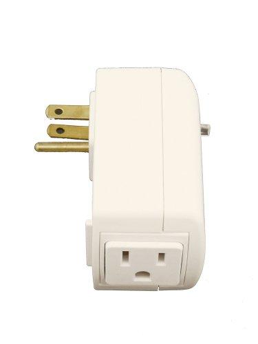 (Leviton RZP15-1LW Vizia RF 15A Scene Capable Plug-In Appliance Module, White)