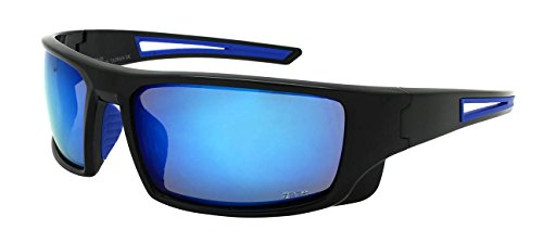 Edge I-Wear Sports Safety Sunglasses ANSI Z87+ Color Mirror Lens - I Women Sunglasses For