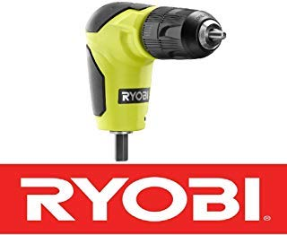 Cheap New Ryobi 18 Volt Right Angle 90 Degree Drill Attachment 3/8 Chuck A10raa1