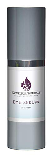 Novellus Naturals- Ultimate Luxury Instantly Uplifting Eye Serum- Age Defying Formula- Designed to Deeply Hydrate- Fill Fine Lines- Minimize the Signs of Aging- Brighten and Accentuate Eyes