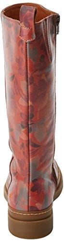 Bonn 1035 Art Naranja Mujer Petalo Botas Fantasy BxOF8