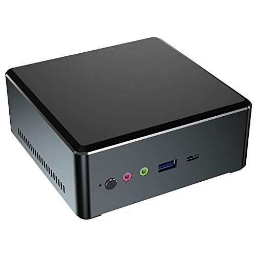 UCMDA Mini PC Windows 10 Home, DDR4 8GB+ 128G NVME SSD Storage, AMD Ryzen 3 2200U CPU (UP to 3.4GHz), Mini Desktop…