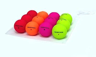 Poker Face M - Premium Matte Finish Color Distance Golf Balls