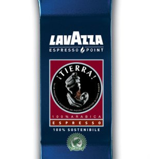 Lavazza 0490 Tierra Espresso Point Machine Cartridges, 50 vacuum packed bags containing 100 cartridges