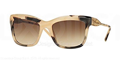 Burberry Women's BE4208Q Sunglasses & Cleaning Kit Bundle