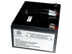 Battery Technology Replacement Ups Battery For Apc Rbc6 (Bti Camcorder Battery)