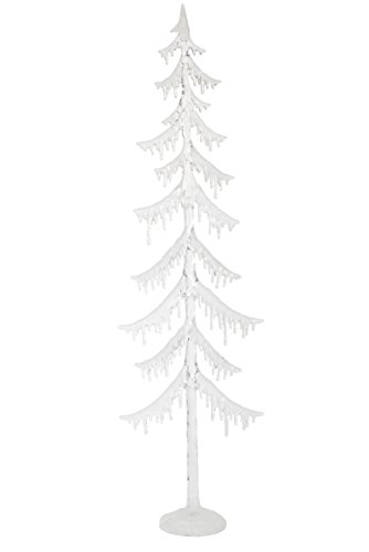 Winter's Crystal Glitter Iced LED Light Up 38 Inch Acrylic Holiday Tree by Roman
