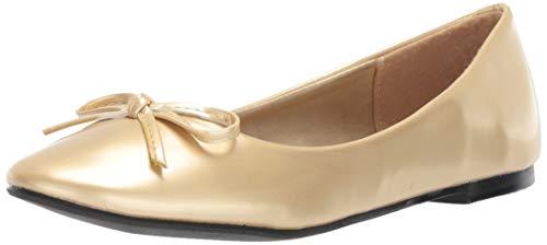 Ellie Shoes Women's 016-MILA Ballet Flat, gld, 11 M US