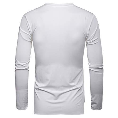 shirt T shirt Uomo Bianco Uomo Heetey Heetey T wv4gxFqRXv
