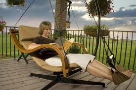 Hammaka Nami Deluxe Hanging Hammock Lounger Chair In Burgundy
