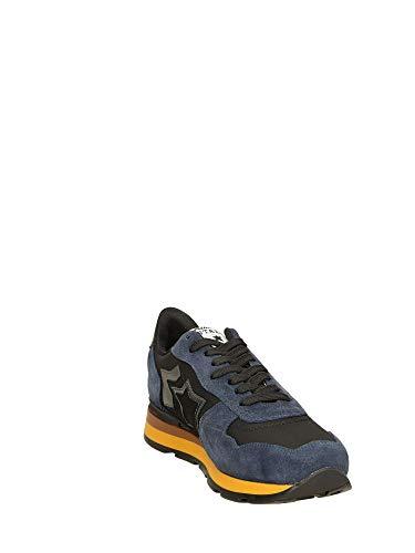 Blu 46 Stars Uomo Sneakers Atlantic Antares Bassa Nero YqRpf