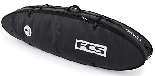FCS Travel 4 All Purpose Travel Bag - Black/Grey - 6'3""
