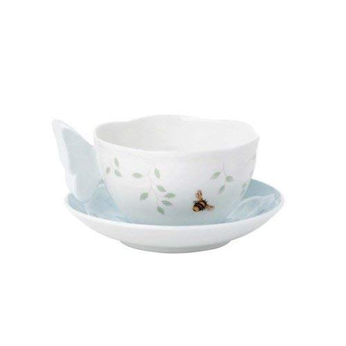 Lenox Butterfly Meadow Butterfly Blue Cup(s) & Saucer(S)