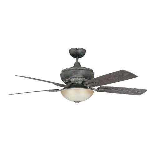 Concord Fans Boardwalk Aged Pecan Wet 52-Inch Ceiling Fan