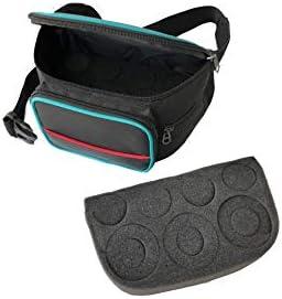 """Telescope Eyepiece Waist Bag Holder Carrier Case Nylon Surface Sponge Inside Portable for Celestron 1.25"""" Omni TMB Universal"""