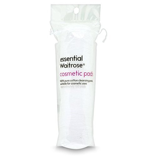 Pure Cotton Pads essential Waitrose 100 per pack by Essential Waitrose Waitrose Essentials
