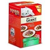 NESTLE Gourmet Mon Petit Salmon 6 Pack 50g pack of 1