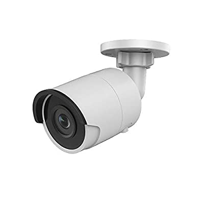 UltraHD 4K 8MP Outdoor PoE IP Security Camera OEM DS-2CD2085FWD-I,4mm Fixed Lens, 3840×2160 Resolution Bullet Network Surveillance Camera,100ft Night Vision,Micro SD Card Slot H.265+,IP67, ONVIF by Hikvision