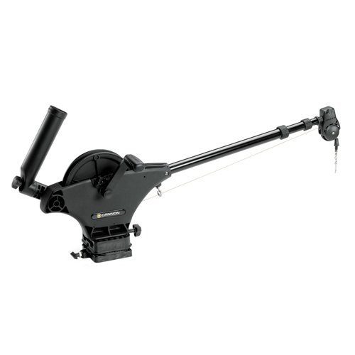 Cannon 1901130 Uni-Troll 10 STX Manual Downrigger with Dual Axis Rod Holder ()