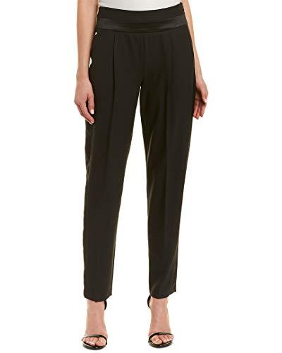 Wool-Blend Trouser, 0, Black ()