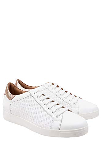 Signature in Sneakers bianca Woman Next metallizzata pelle HgRqZ6xn