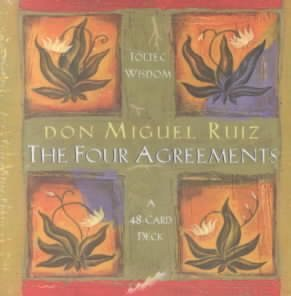 (FOUR AGREEMENTS CARDS)Four Agreements Cards BY Ruiz, Don Miguel[Author]unknown Binding