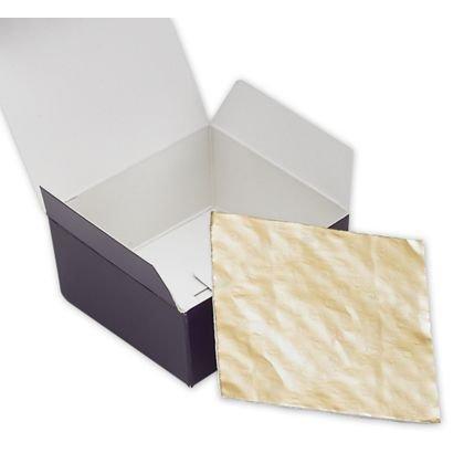 """Food & Gourmet Boxes - Ballotin Candy Pads, 2 9/16 x 2 11/16"""" (200 Pads) - BOWS-MB4PAD"""
