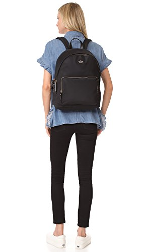 Kate 15 Clotted One Size Tech Women's Backpack York Spade Inch Black Nylon New Cream Black 1 qwrq4A