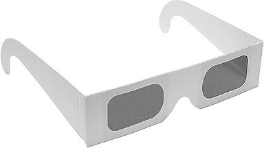 3D Glasses for IMAX Only - Paper Polarized 3D Glasses for Imax Theaters - Alice In Wonderland 3D, Avatar, How to Train Your Dragon(3 - If Polarized Are Glasses Check