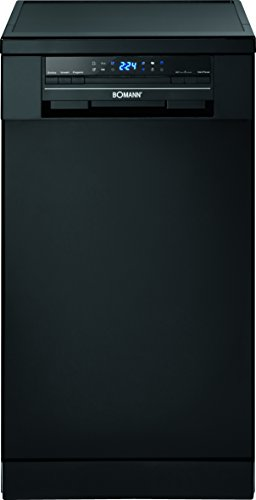 Bomann GSP 852 schwarz Geschirrspüler / A++ / 197 kWh/Jahr / 9 MGD / Energieeffizienzklasse A++ / schwarz