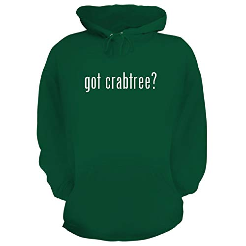 BH Cool Designs got Crabtree? - Graphic Hoodie Sweatshirt, Green, XXX-Large