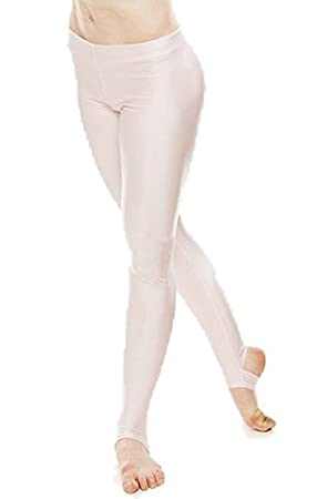 18c2c76a24a57 KDT001 Girls Ladies Childrens All Colours And Sizes Nylon Lycra Shiny  Stirrup Dance Gymnastics Tights Leggings