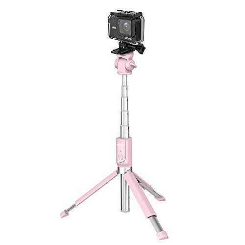 BlitzWolf BW-BS5 SelfieStick y Trípode Multi-ángulo, Rediseñado, 81cm, Bluetooth para Smartphone Cámara Deportiva, DSRL -...
