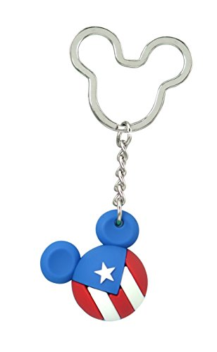 Disney Mickey Icon Ball Key Ring - Puerto Rico Key Accessory