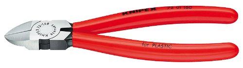 KNIPEX 72 01 160 Diagonal Flush Cutters Diagonal Plastic Cutting Pliers