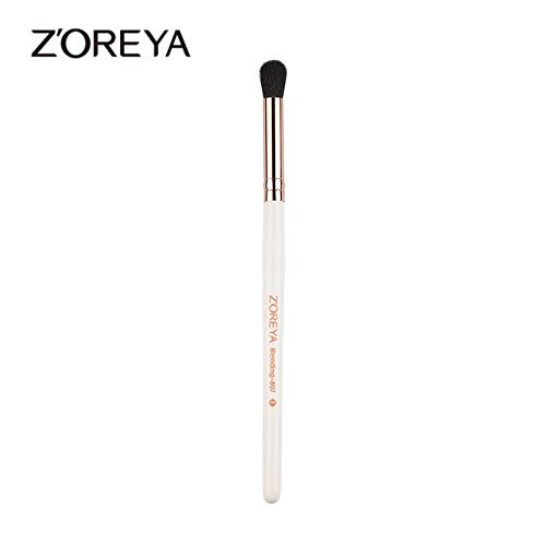 Best Quality - Eye Shadow Applicator - 1Pcs Hot Sale Eyeshadow Blending Brush Makeup Brush White Wooden Handle Synthetic Fiber Make Up Tool - by Chipsua@ - 1 PCs