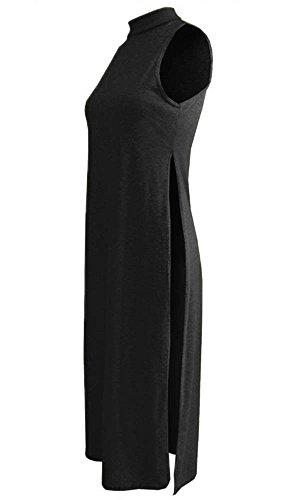 REAL LIFE FASHION LTD - Vestido - Sin mangas - para mujer negro