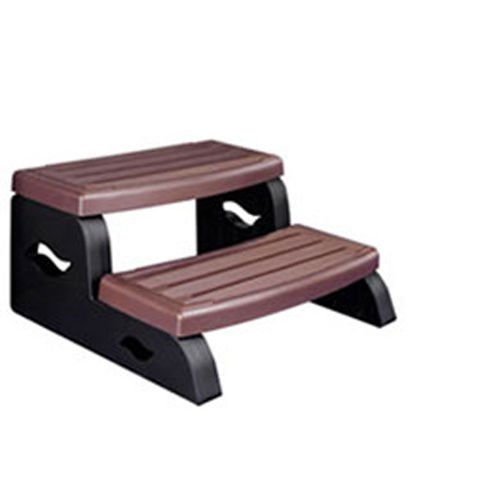 (Leisure Concepts DS2BR DuraStep II Spa Step in Redwood Color)