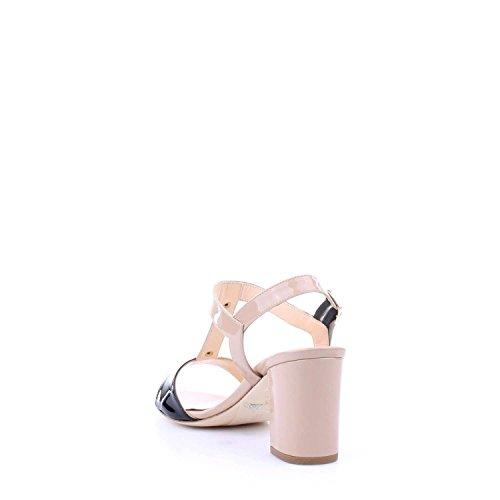 MELLUSO - Sandalias de vestir de charol para mujer Nude