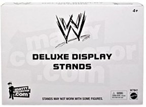 Mattel WWE Wrestling Deluxe Figure Display Stands